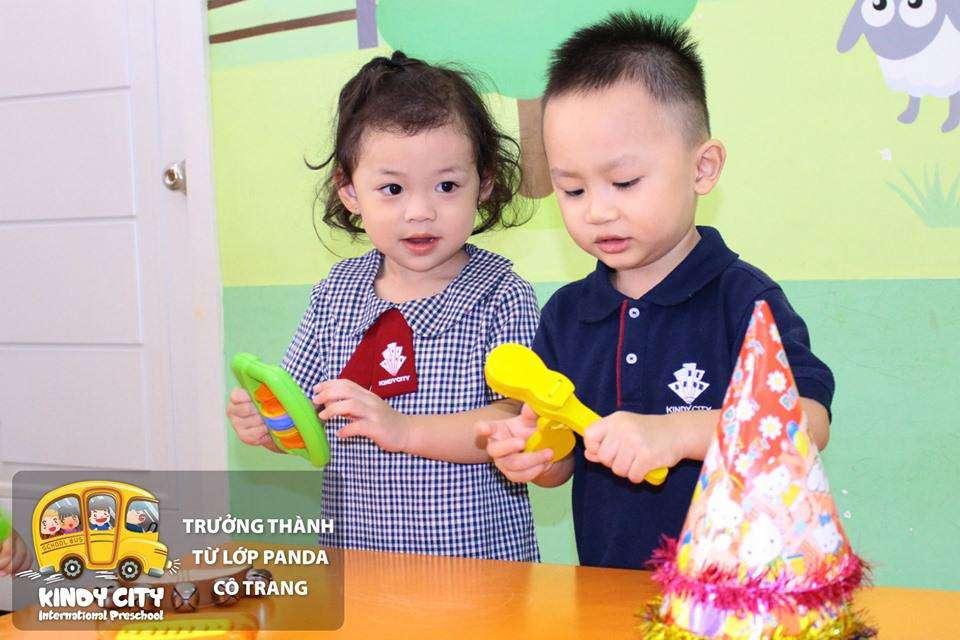 Minh Hy học tại cơ sở Vành Đai Trong (Bình Tân)
