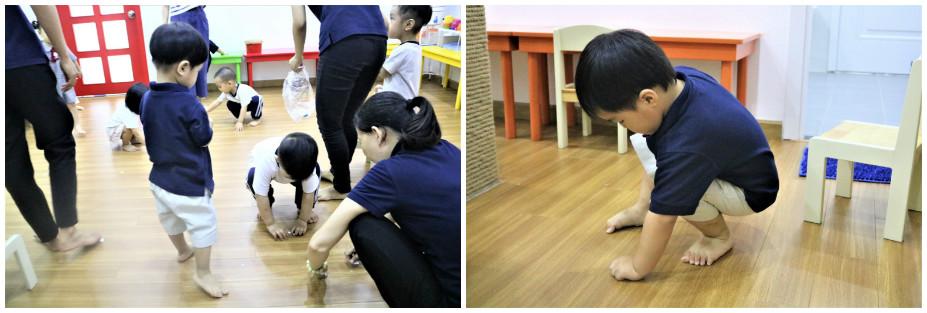 Trẻ nhỏ rất mê chơi nhưng ngược lại ít thích dọn dẹp đồ sau khi chơi xong