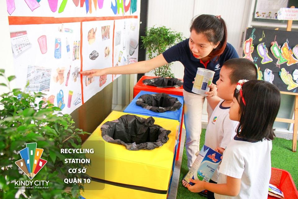 Recycling Station tại cơ sở Nguyễn Duy Dương