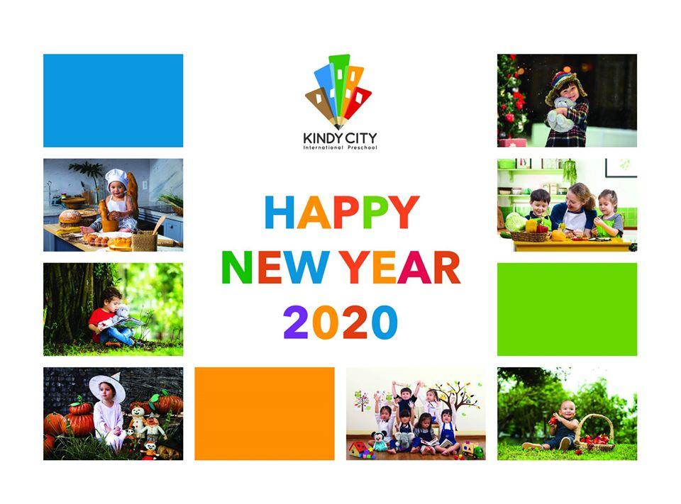 Bộ lịch Kindy City 2020
