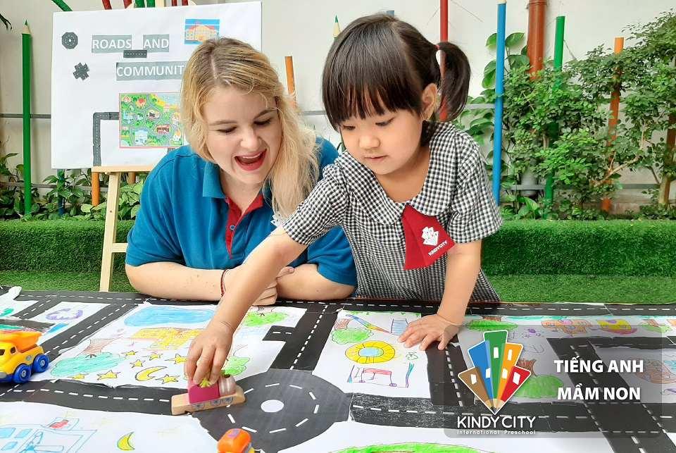Tiếng Anh cho trẻ mầm non tại Kindy City