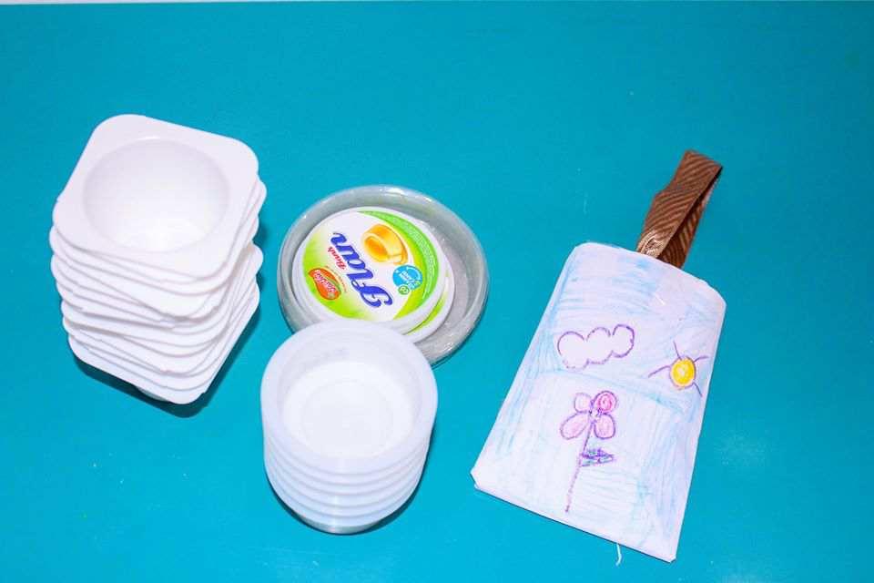 Các sản phẩm được học sinh Kindy City tái chế và tái sử dụng