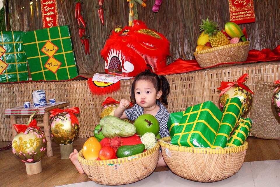 Trẻ học gì qua lễ hội Tết cổ truyền ở Kindy City