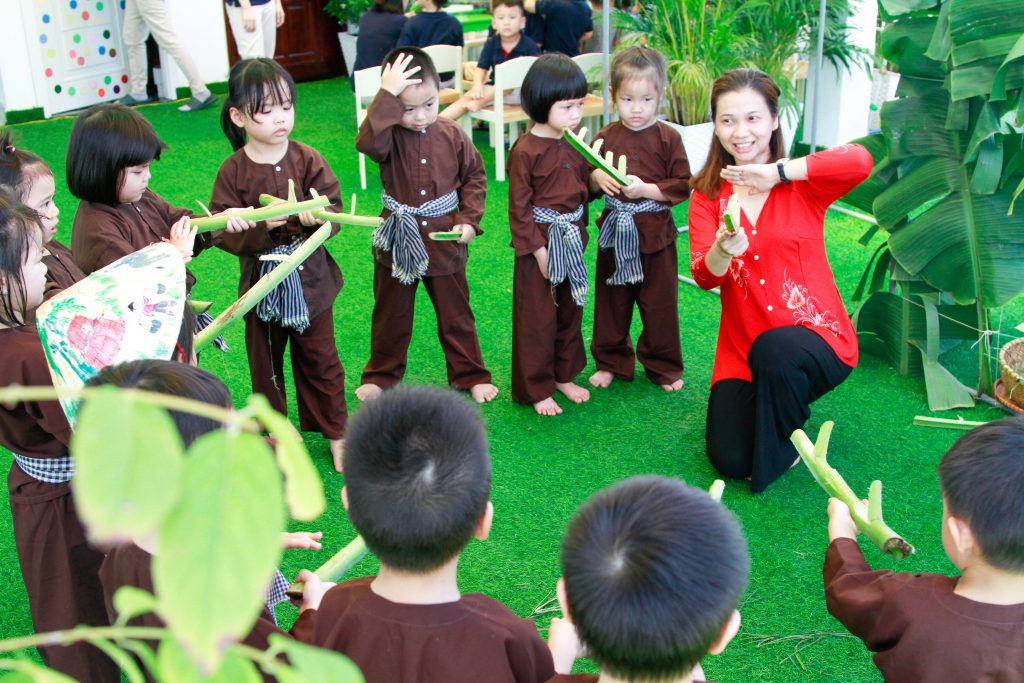 Kindy City students are passionate about countryside games