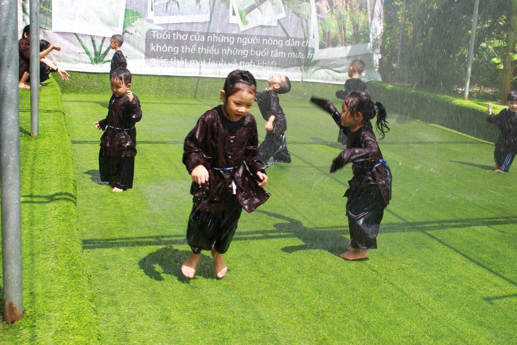 Bé Huỳnh Mỹ Đình vui học tại KINDY CITY